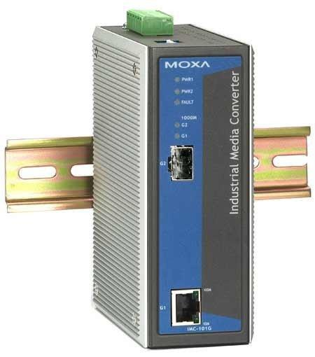 Конвертер MOXA IMC-101G-T