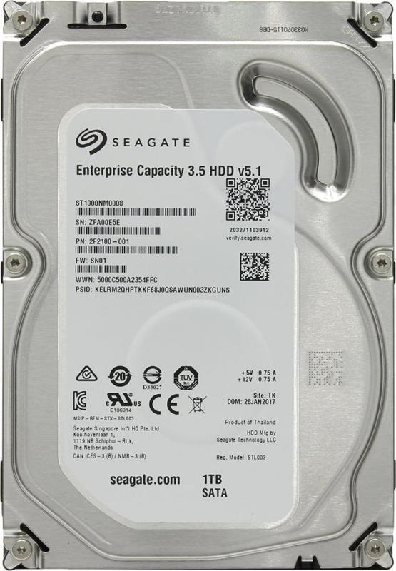Жёсткий диск Seagate ST1000NM0008