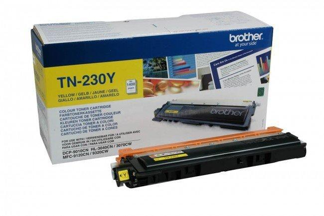 Картридж Brother TN230Y