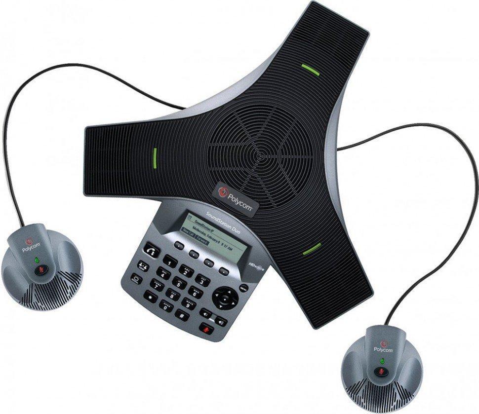 Конференц-телефон Polycom SoundStation Duo (2200-19000-114)