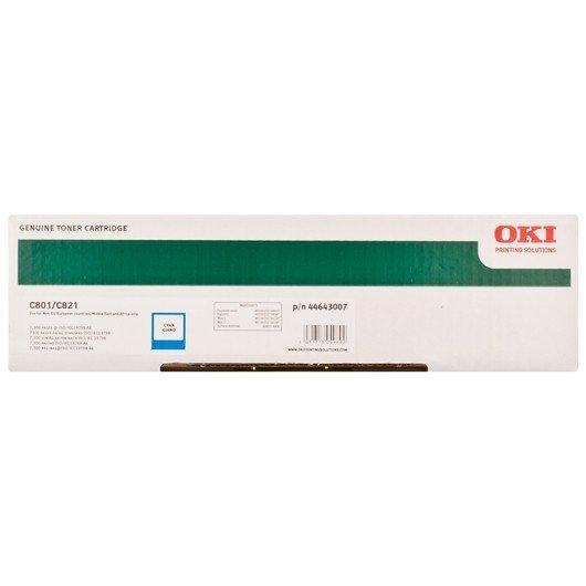 Картридж Oki 44643007 (44643003) (TONER-C801/C821-C-NEU)
