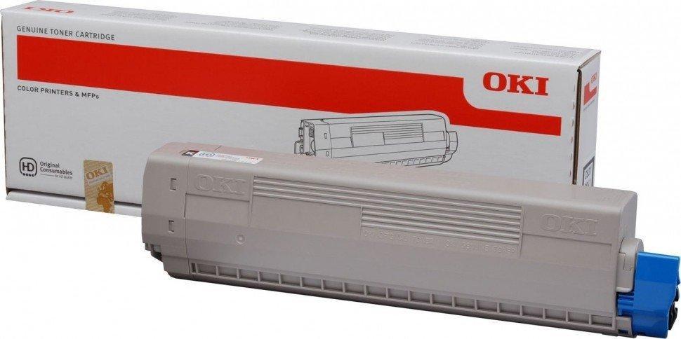 Картридж Oki 44844508 (TONER-K-C831/841-10K-NEU )