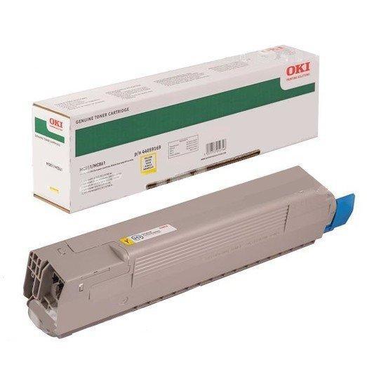 Картридж Oki 44059169 (44059165) (TONER-Y-MC851/MC861-7.3K-NEU)