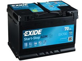 Аккумулятор Exide EK700 AGM