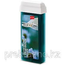 Воск для депиляции ITALWAX теплый 100мл Azulene в картридже