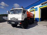 Вакуумная машина АВ-10 на базе КАМАЗа 43118