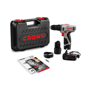 Дрель-шуруповерт аккумуляторный CROWN CT21053L(А)