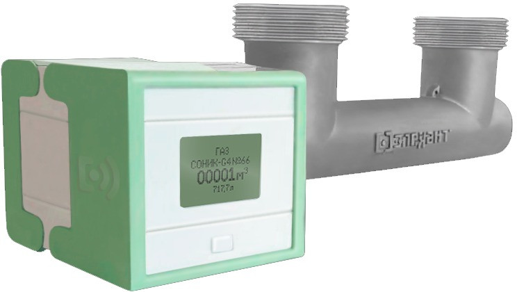 Счетчик газа Ультразвуковой СОНИК G4 ТК, с Выносным дисплеем (ВД), с беспроводной передачей показаний