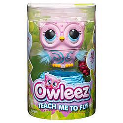 Игрушка Owleez Совенок Розовый