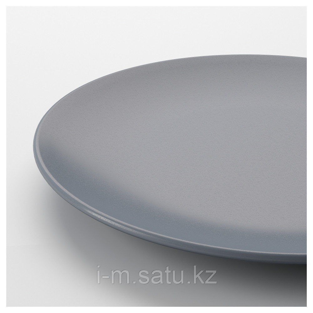 ДИНЕРА Тарелка десертная, серо-синий