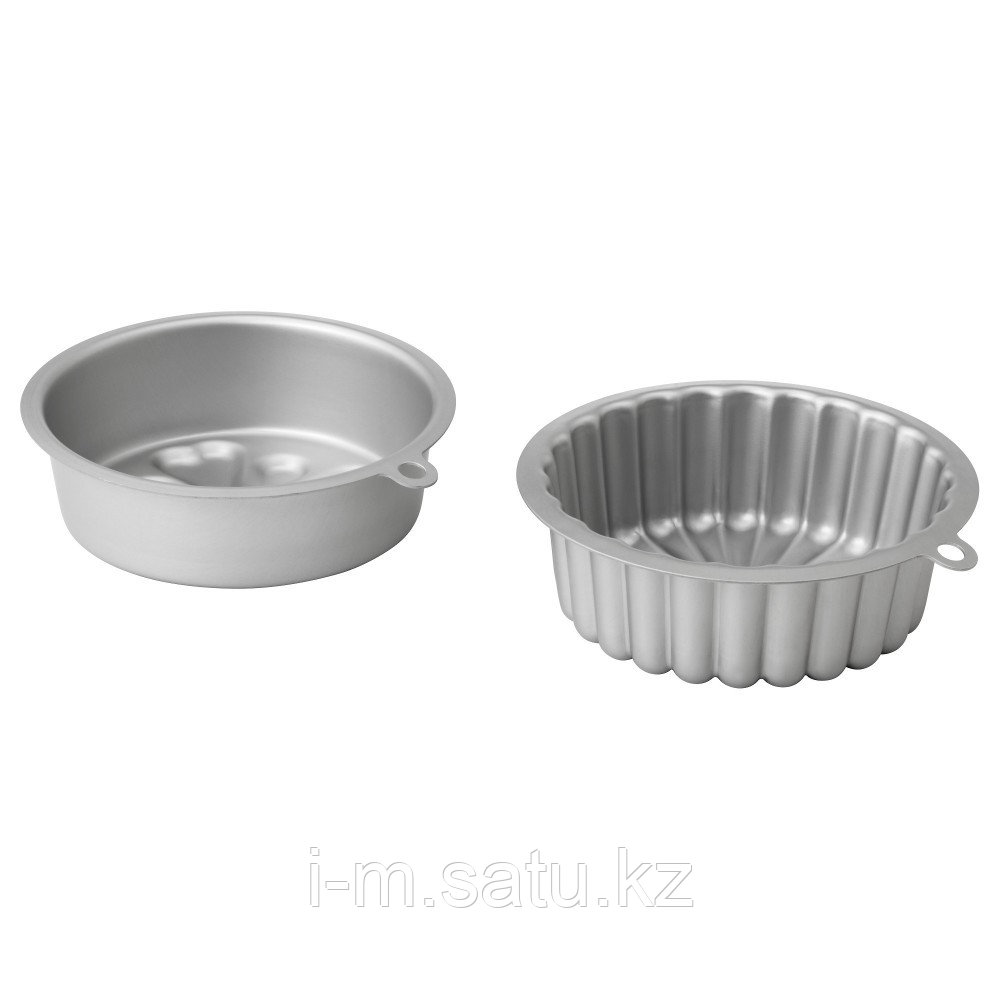 ВАРДАГЕН Форма для выпечки, серебристый,0.5л 2 шт