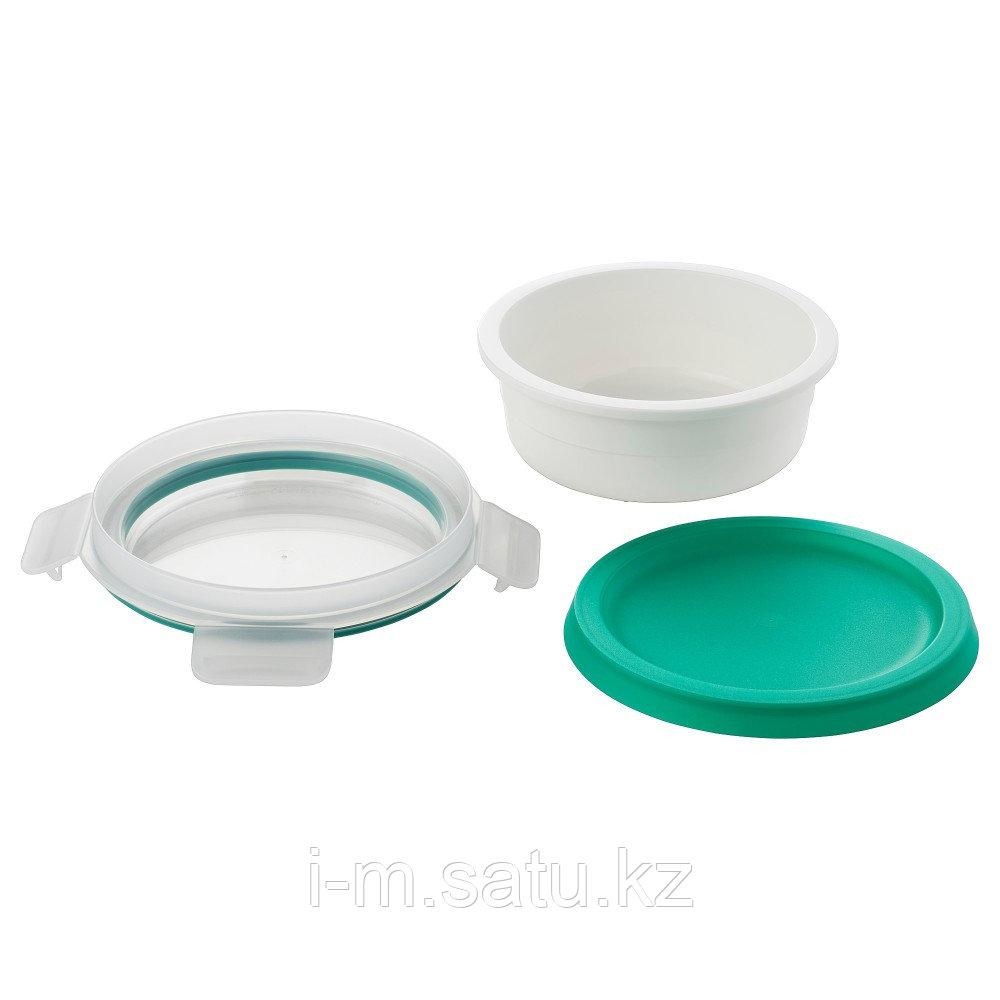 ИКЕА/365+ Контейнер для завтрака с отделением, круглый
