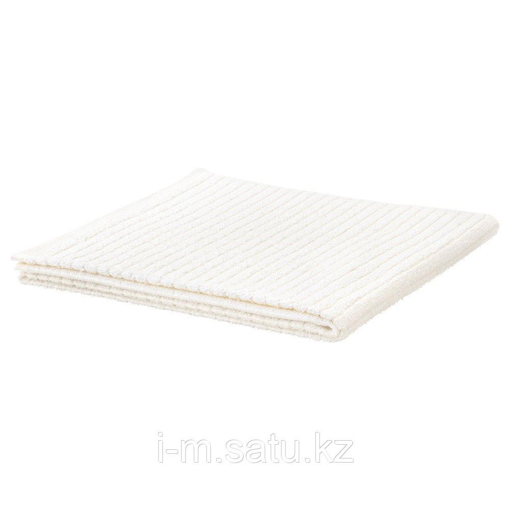 ВОГШЁН Банное полотенце, белый