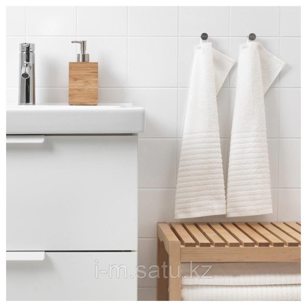 ВОГШЁН Полотенце, белый