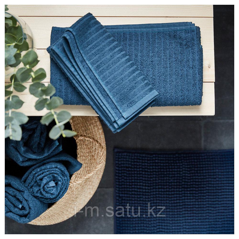 ВОГШЁН полотенце среднее синее