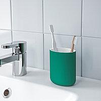 ЭКОЛЬН Держатель д/зубных щеток, зеленый, фото 1