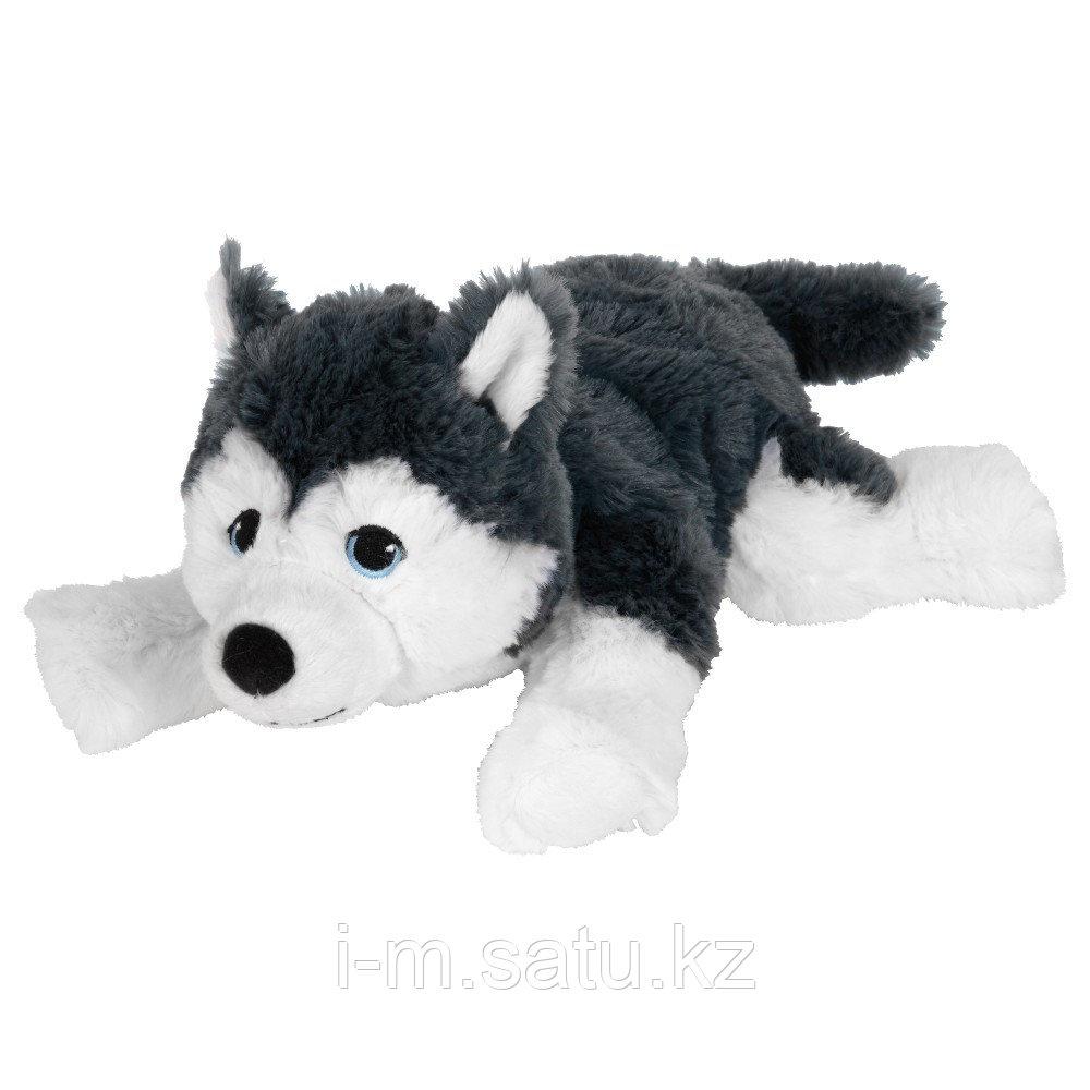 ЛИВЛИГ Мягкая игрушка, собака, сибирский хаски