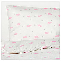 ХИММЕЛЬСК Комплект постельного белья, 3 предм, розовый, фото 1