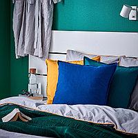 ГУРЛИ Чехол на подушку, темно-синий, фото 1