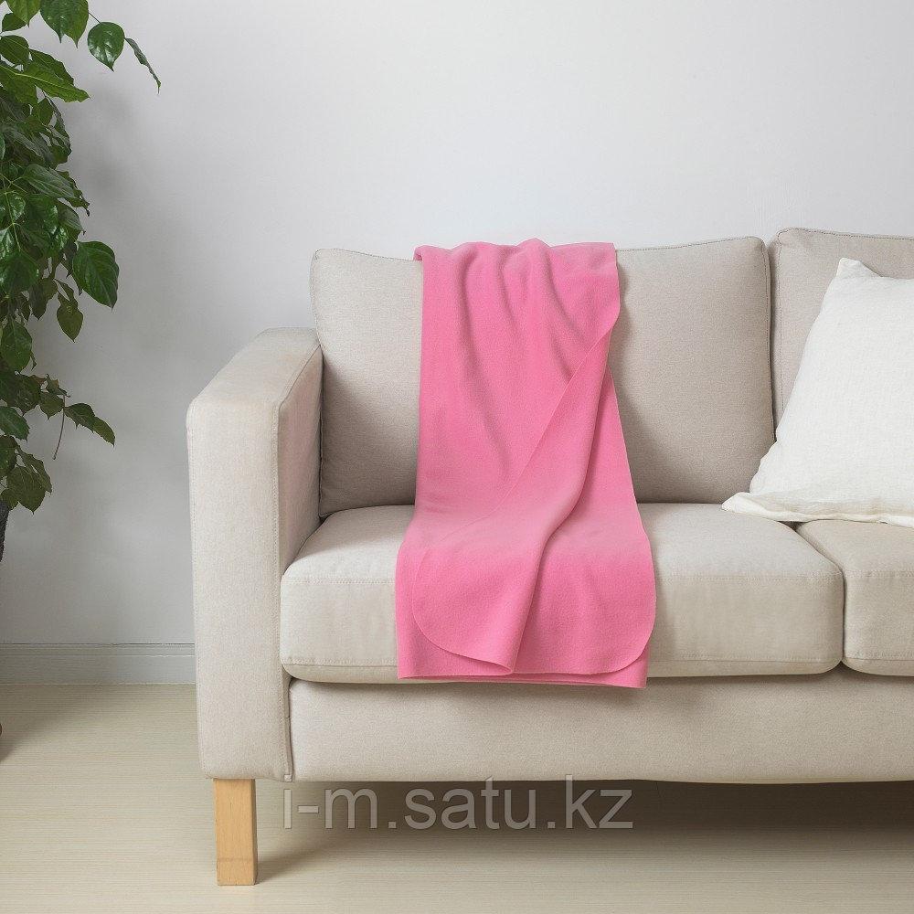 МАНДАРИНРОЗ Плед, розовый