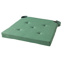 ЮСТИНА Подушка на стул, зеленый