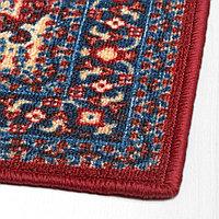 СКИВХОЛЬМЕ Придверный коврик, красный, синий, 40x60 см