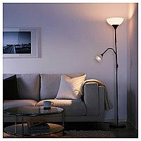 НУТ Торшер, читальная лампа черный белый, фото 1