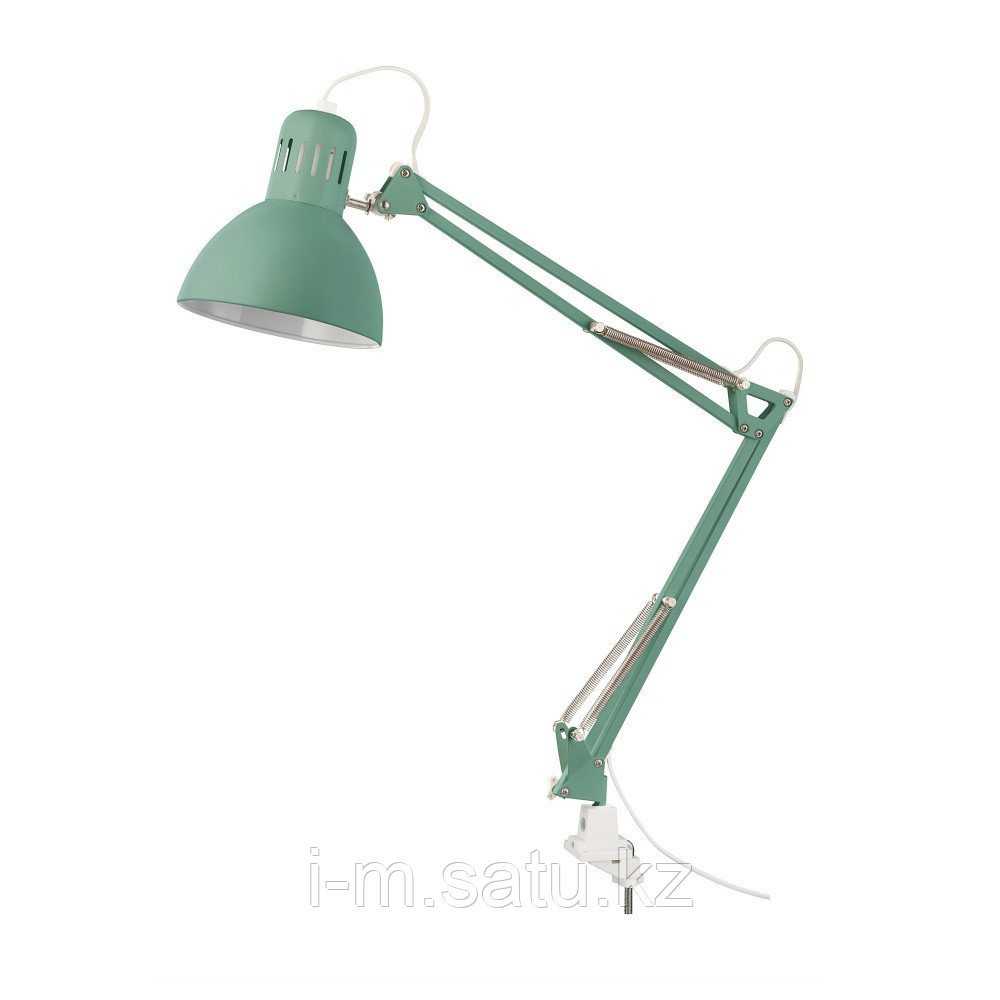 ТЕРЦИАЛ Лампа рабочая, светло-зеленый