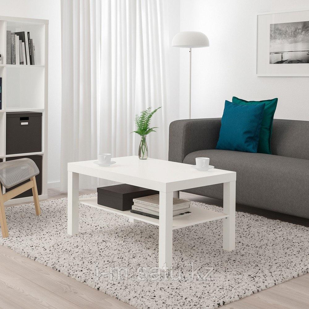 ЛАКК Журнальный стол, белый