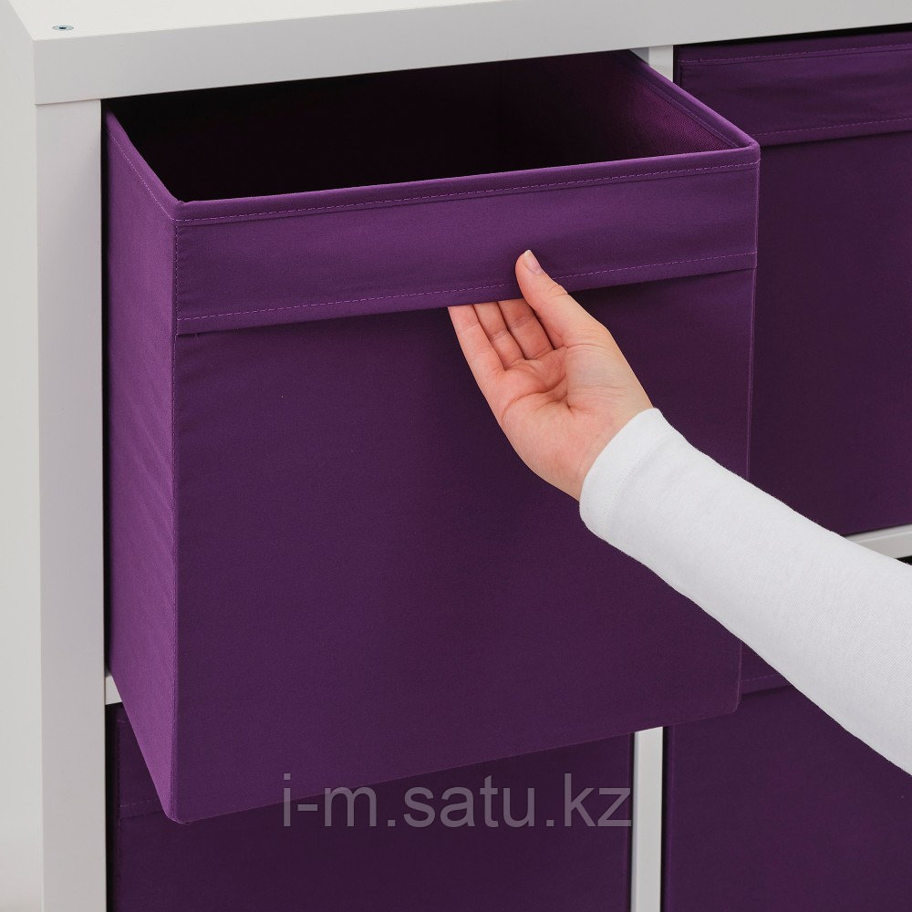 ДРЁНА Коробка, фиолетовый