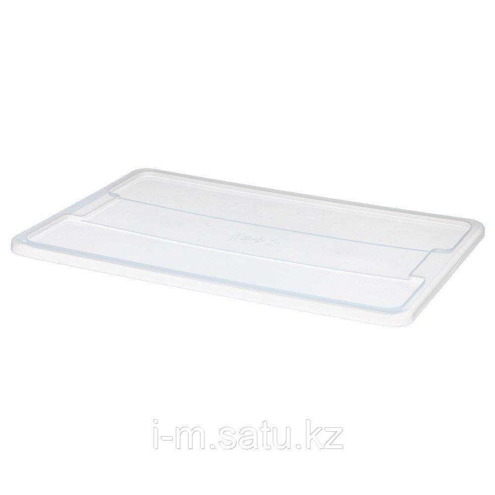 САМЛА Крышка для контейнера 45/65 л, прозрачный
