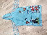 Дождевик детский из непромокаемой ткани с капюшоном, фото 2