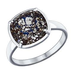 Кольца с кристаллами Swarovski