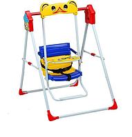 Детские качели напольные Skillmax синий/желтый, фото 1