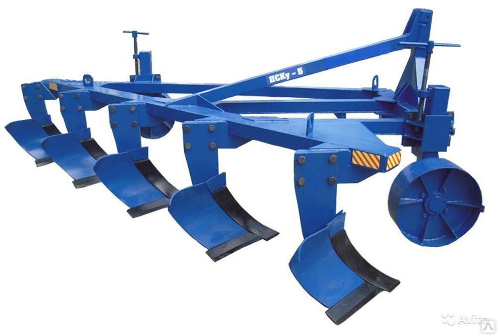 Плуг навесной пятикорпусный марки ПСКу - 5