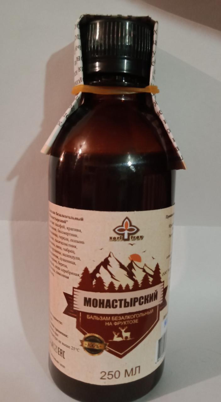Монастырский бальзам на фруктозе, 250мл
