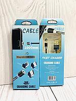 Кабель магнитный круглый Magnetic USB Cable Lightning  M3, фото 1