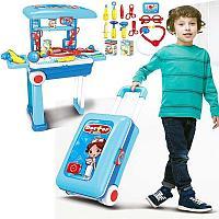 Игровой набор доктора Kids Doctor 008-925 в чемодане с ручкой(73533)