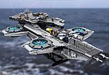 Аналог лего Lego 76042 LION KING 180081 LEPIN 07043 Геликарриер — воздушный перевозчик организации Щ.И.Т., фото 9