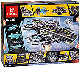 Аналог лего Lego 76042 LION KING 180081 LEPIN 07043 Геликарриер — воздушный перевозчик организации Щ.И.Т., фото 8
