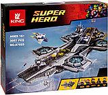 Аналог лего Lego 76042 LION KING 180081 LEPIN 07043 Геликарриер — воздушный перевозчик организации Щ.И.Т., фото 7
