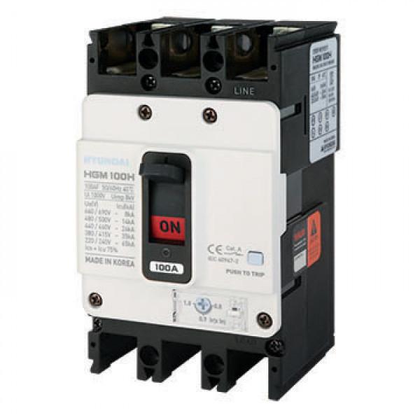 Автоматический выключатель HGM100S 3PT4S0000C 00080F