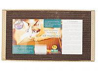 Картонная когтеточка лежанка для кошек, 50 см