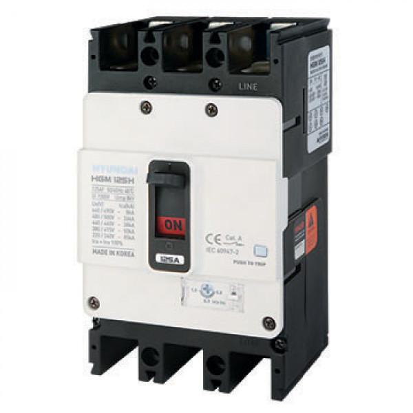 Автоматический выключатель HGM125S 3PT4S0000C 00020F