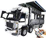 Конструктор Аналог лего Lego Technic MOC-1389  LEPIN 23008 Mould King 13139  Wing Body Truck грузовик фура, фото 3