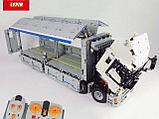 Конструктор Аналог лего Lego Technic MOC-1389  LEPIN 23008 Mould King 13139  Wing Body Truck грузовик фура, фото 5