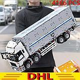 Конструктор Аналог лего Lego Technic MOC-1389  LEPIN 23008 Mould King 13139  Wing Body Truck грузовик фура, фото 6