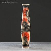 """Ваза напольная """"Лань"""" стразы, 66 см, микс, керамика"""