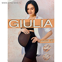Колготки для беременных GIULIA MAMA 40 ден цвет загар (daino gul), размер 4