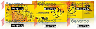 Стретч пленка для упаковки сенажа (белая) 750х0.025х1500м SPILE